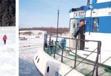 Kalurid jalutasid kilomeetreid üle jää Veerele toidu järele