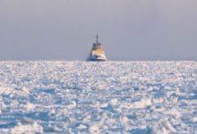 Pakane nullis jäälõhkuja töö Veere sadamas (lisatud videod ja galerii!)