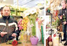Kuklid ja roosid olid eile kõige minevam kaup