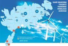 Saare maakonna tuuleenergia planeering jäi kooskõlastuseta