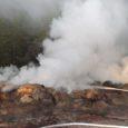 Kihelkonna vallas põles pühapäeva õhtul ära 30 heinapalli ja ühe versiooni kohaselt võib põlengu põhjuseks olla süütamine.