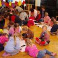 """Sel nädalal jõudis lõpule Kuressaare Pargi ja Kärla lasteaia koostööprojekt """"Linnalaps maale ja maalaps linna"""". Kui sügisel kutsus Kärla lasteaed linnalapsed külla, siis sel teisipäeval käisid Kärla lapsed külas Pargi lasteaial."""