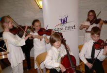Väikesed viiuldajad Music First'i festivalil