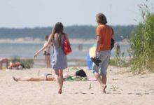 Kuumalaine vallutab Saaremaa