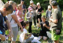 Õpilased Kipi-Koovi looduslaagris