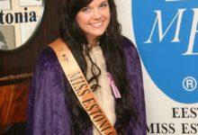 Saarlanna Madli Vilsar krooniti miss Estoniaks