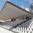 """Kuressaare linnavalitsus kuulutas eile pidulikult välja Kuressaare staadioni tribüünihoone ideekonkursi võitjad. Esikoha vääriliseks tunnistati AS Tari ideelahendus märgusõnaga """"Maailmarekord"""", mille taga peitusid arhitektid Mihkel Tüür ja Ott Kadarik."""