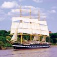 Tallinna merepäevade suursündmuseks on purjelaeva Krusenstern saabumine Tallinna. Lugenud seda uudist, tekitas see minuski sooje tundeid.