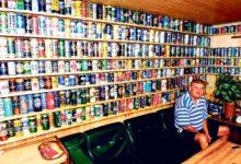 Peetri kogus on 1125 erinevat õllepurki