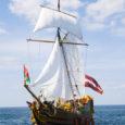 Kuressaare merepäevade üheks tõmbenumbriks tõotab tänavu saada ajalooline purjelaev Libava Liepajast. See lätlaste purjelaev on just nii paraja suurusega, et mahtuda läbi Kuressaare sadama faarvaatrist ja kaunistada merefestivali laevaderivi.