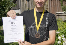Mihhail Afanasjev oli ülemaailmsel olümpiaadil edukas