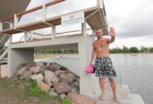 Kuressaare supelrannas keelati ujumine reostuse tõttu
