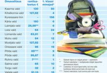 Ranitsatoetuste vahe on üle saja euro