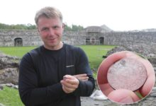Lossihoovist leiti haruldane hertsog Magnuse aegne münt