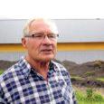 Möödunud aastal loomakasvatuse investeeringutoetust saanud Saikla loomapidaja Heino Laanet ehitas lihaveiste lauda valmis pankade abita.