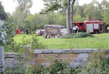 Vantri küla tulekahjus hukkus vanem mees