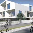 """Kuressaare linna Kitsas tn 15 arhitektuurikonkursi võitis PIN Arhitektid OÜ võistlustöö """"Raam"""", teise koha pälvis töö nimega """"Silk"""" (Doomino Arhitektid OÜ) ja kolmanda koha """"Kodurahu"""" (Trikk OÜ)."""