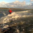 Võrreldes 2011. aasta augustiga on rannaastang Kiipsaare majaka juures liikunud praeguseks juba koguni kaheksa meetrit sisemaa poole.