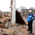 Muinsuskaitseamet nõuab uut õppebaasi ehitavalt Kuressaare ametikoolilt endise võimlahoone viltuse paekiviseina säilitamist.