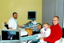 Saarlased katsetasid ultraheliuuringut Skype'i vahendusel