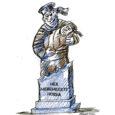 """Pealkirja """"Hea meremeeste Hoidja"""" kannab Muhust pärit kirjaniku Juhan Smuuli – kes täna, 18. veebruaril saanuks 90-aastaseks – proosakogumik aastast 1972. Raamatu illustraatori kunstnik Ilmar Torni pildid viisid mind aga kogumiku hiljutisel ülelugemisel mõttele, et Muhumaale Kuivastu sadama lähedale kõige sobivamasse kohta võiks sel aastatuhandel püstitada mälestusmärgi kõigile Muhu meremeestele, sest kui palju muhulasi on kündnud lähedast või kauget merd ja künnavad ka praegu."""