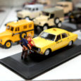 Juba mõnda aega Saaremaa muuseumis avatud olnud automudelite näitusel on külastajates elevust tekitanud taksomudel, mida täiendavad vallatus poosis mehe- ja naisekuju.