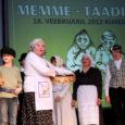 Laupäeval Kuressaare kultuurikeskuses toimunud traditsiooniline, järjekorras juba 17. memme-taadi päev tõi kokku ligi kolmsada osalejat kogu maakonnast.