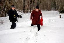 Võitlus tee pärast jättis mehe lumevangi