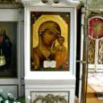 4. märtsil õnnistati EAÕK Kuressaare püha Nikolai kirikus restaureeritud Jumalasünnitaja ikoon (fotol).