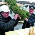 Eile sarikapeoni jõudnud Kuressaare politsei- ja päästemaja peaks valmis saama septembris 2012. Praegu peamiselt betoonist sõna otseses mõttes kolossi silmitsenud kohalikud politsei- ja päästepealikud nentisid, et avanev pilt pole paha.