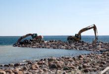 Rannaaugu sadamas rikuti ehituskeeldu