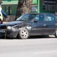 Eile juhtus autoavarii Kuressaares Tallinna tänaval Maxima kaupluse juures.