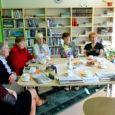 Möödunud kolmapäeval külastasid Aste raamatukogu Saarte Hääle ajakirjanikud Ivika Laanet ja Evely Aavik.