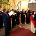 """Koor nimega Psalloo, mis eesti keeles tähendab """"mina laulan"""", annab kaks kontserti: 19. mail kell 17 Leisi õigeusukirikus ja 20. mail kell 13 Tornimäe kirikus."""