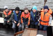 Lasteaialapsed nuusutasid mereõhku