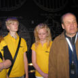 Läinud laupäeval tegutsesid Orissaare gümnaasiumi noorgiidid vabatahtlikena Eesti meremuuseumi vastavatud Lennusadamas.