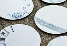Pädaste restorani taldrikuid kaunistavad muhu motiivid