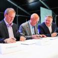 Laupäeval sõlmisid Saaremaa Laevakompanii, BLRT Grupp ja Swedbank eelkokkuleppe neljanda uue parvlaeva ehitamiseks Väinamere reisiliinidele.