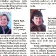"""Oma 11. juuli uudises """"Hotellikülastajate arv jätkuvalt languses"""" kirjutasime, et ehkki Eestis tervikuna on hotellikülastajate arv käesoleva aasta esimesel viiel kuul mullusega võrreldes jätkuvalt tõusnud, on olukord Saare maakonnas vastupidine. […]"""