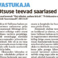 """Samal teemal: """"Uni silmist, sadam ärkab"""", """"Priiskamise ehe näide Saaremaalt"""", SH 24.07 Riik ja AS Tallinna Sadam on Saaremaa sadamasse palju panustanud. Mõistagi oli tegemist eelkõige mitte otsest ärikasu taotleva […]"""