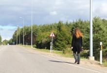 Maanteeamet valgustab teelõike Kuivastu maanteel