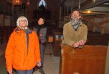 Kihelkonna kirikus tunnustati laisku maalreid