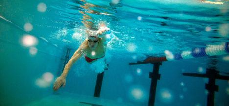 Saarlasest ujuja loodab vajaliku luku lahti keerata
