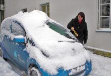 Elektriauto osutus talvistes maaoludes mänguasjaks
