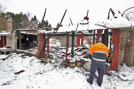 Ansekülas põles kõrvalhoone
