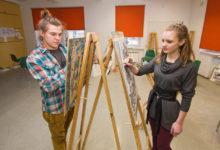 Kuressaare õpilased eelistavad ulmepalgale võimalust kunsti teha
