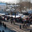 Kuressaares peeti pühapäeval traditsiooniline vabariigi aastapäevale pühendatud kõnekoosolek. Fotod: Raul Vinni