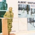 Kirjanik Albert Uustulndi kuju tegijaks valiti võistlusel osalenud kaheksa kunstniku hulgast skulptor Hannes Starkopf. Otsuse andis eile Kuressaare linnavalitsuse saalis pärast enam kui tunniajalist arutelu teada 13-liikmelise žürii juht, Saaremaa […]