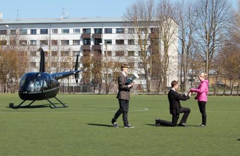 Helikopteriga kosja