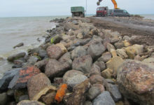 Taaliku sadamast leiti mürsk